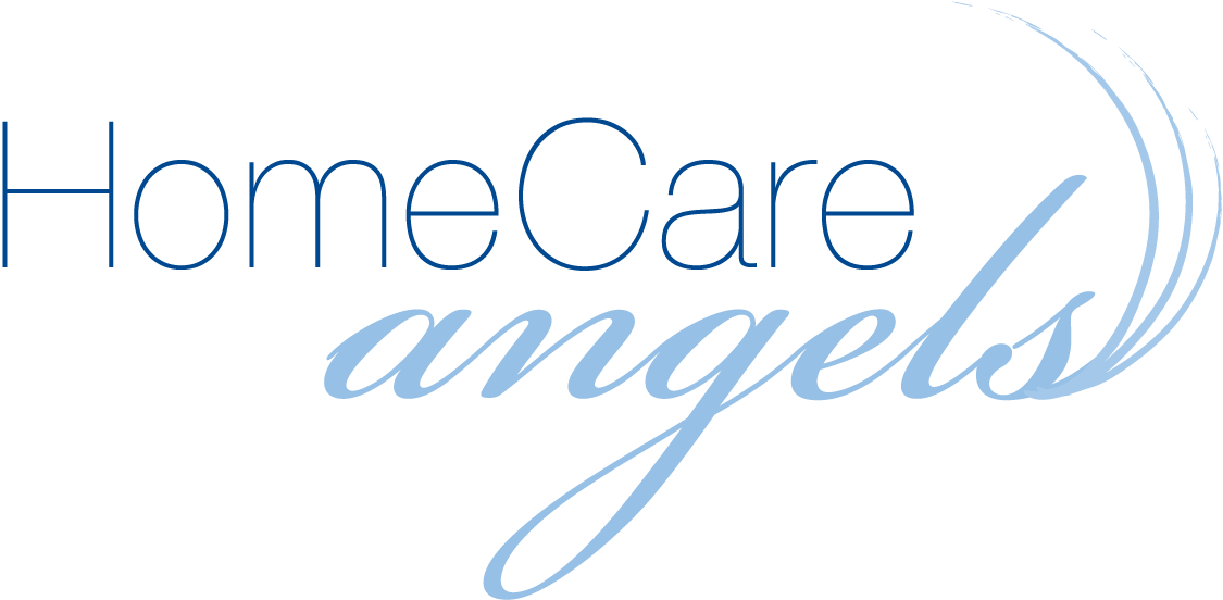 Home Care Angels logo and branding
